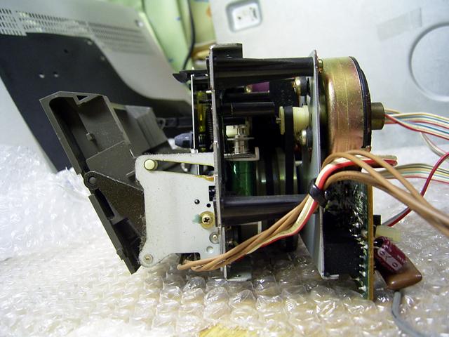 Sony TC FX 1010 Laufwerk Seitlich