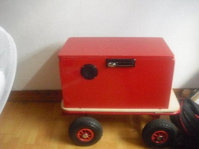 Musik-Bollerwagen
