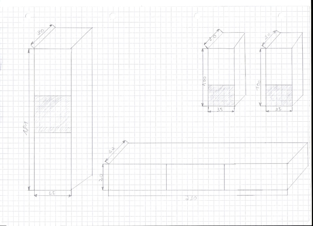 erste Zeichnungen