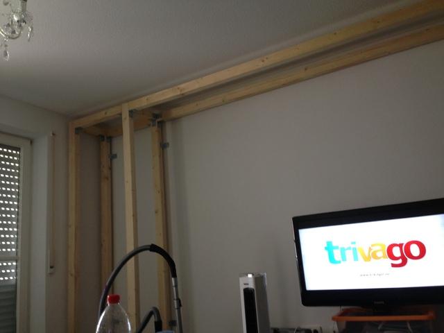 Hifi wand selber bauen  Mediawand selbst gebaut, Sonstiges - HIFI-FORUM