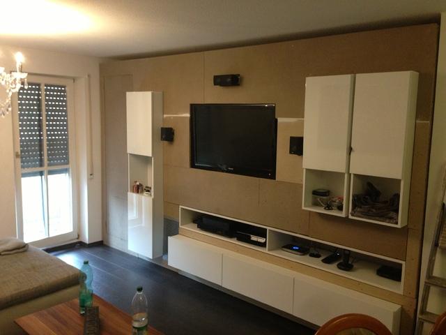 verblender wohnzimmer anleitung mediawand selbst gebaut sonstiges hifi forum