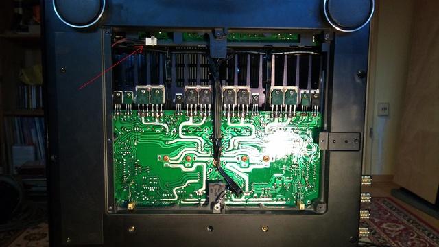 Sony ES Amps Bauteileschutz