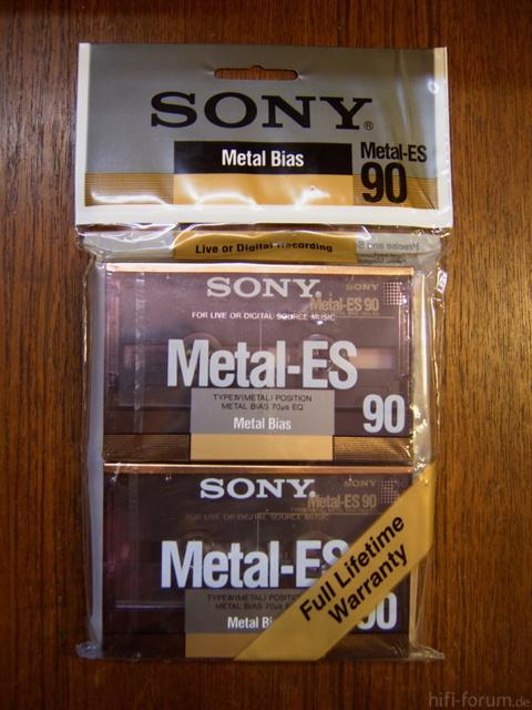 Sony Metal-ES