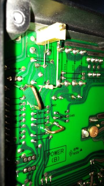 Sony TA-F808ES Ruhestromregelung