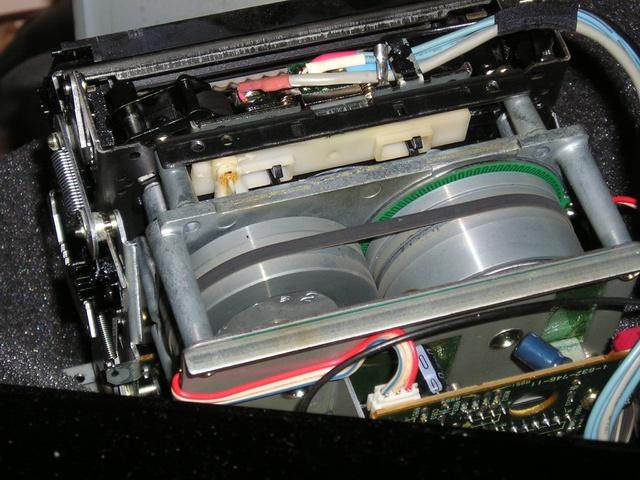 Sony TC-K Laufwerk Axialtiefe 2. Capstan