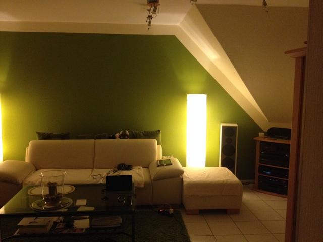 ehefrau-freundliche Wohnraumgestaltung... ;-)