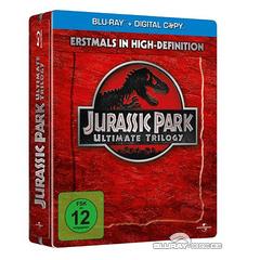 Jurassic Park Ultimate Trilogie Steelbook
