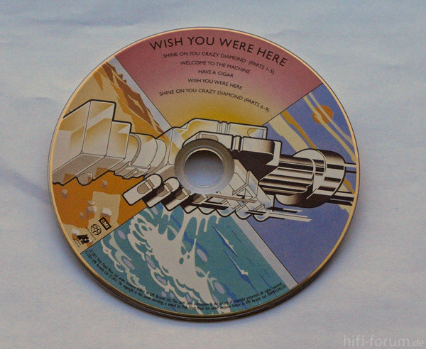 Wish You Were Here SACD