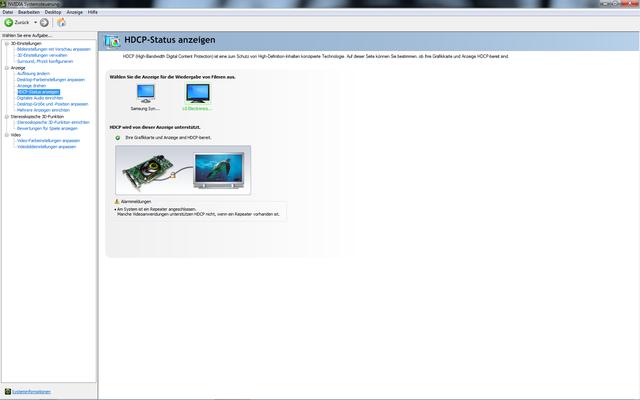 HDCP Status