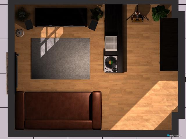 Wohnzimmer Standardansicht von oben