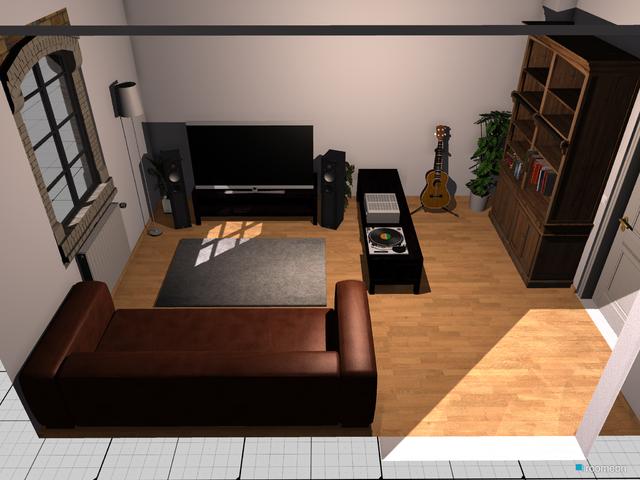Wohnzimmer Standardansicht