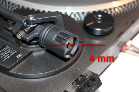 Technics SL-BD3 Tonarmgewicht