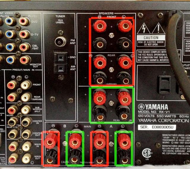 Yamaha RX-V1 problem
