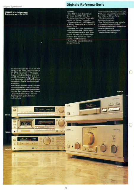 [b]Technics Digital Reference Serie[/b]