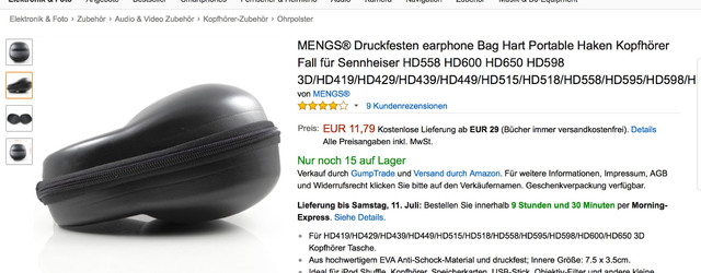 MENGS®_Druckfesten_earphone_Bag_Hart_Portable_Haken__Amazon_de__Elektronik