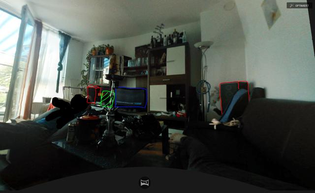WohnzimmerWohnwand