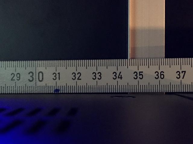Abstand Füsse Denon 8500