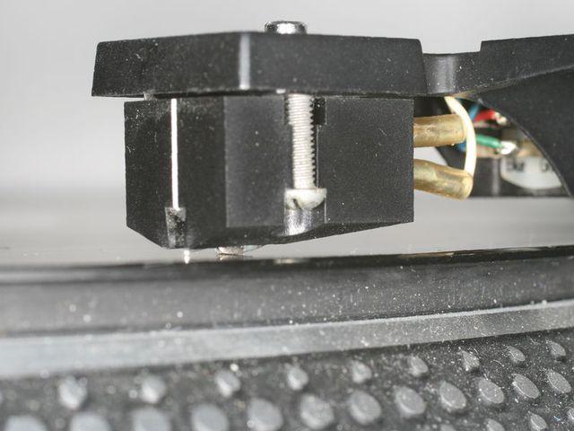 Defektes SL-103 auf Platte