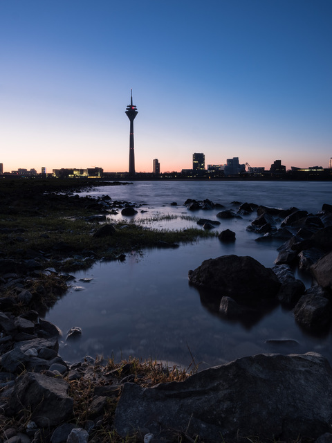 Düsseldorf HDR Ufer