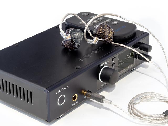 RME ADI-2 DAC FS mit qdc Gemini