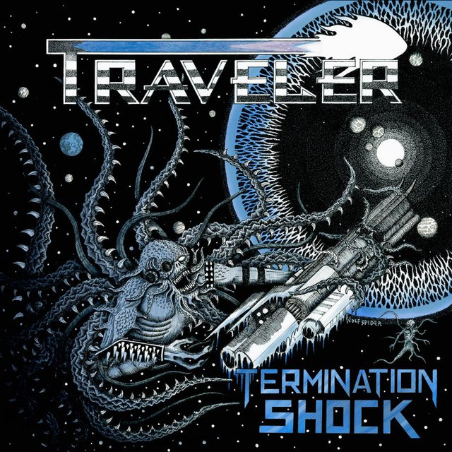 TRAVELER Termination Shock LP BLACK