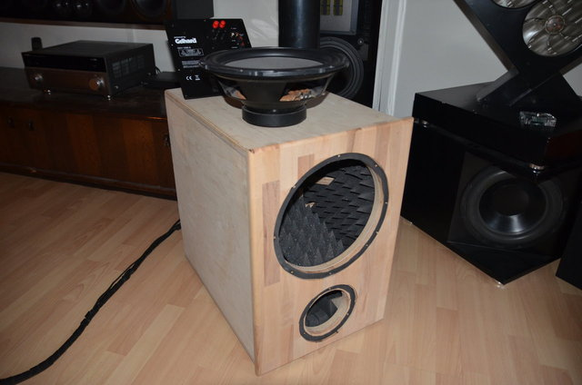 "DIY 12"" Home-Cinema Subwoofer 2.0, Subwoofer - HIFI-FORUM"