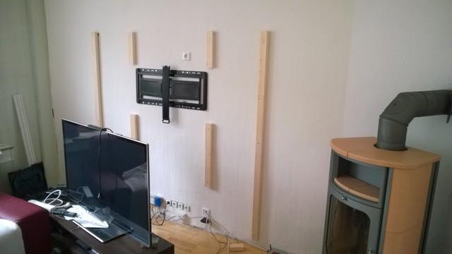 Fernsehwand laminat fernsehwand laminat hifi bildergalerie - Fernsehwand gestalten ...