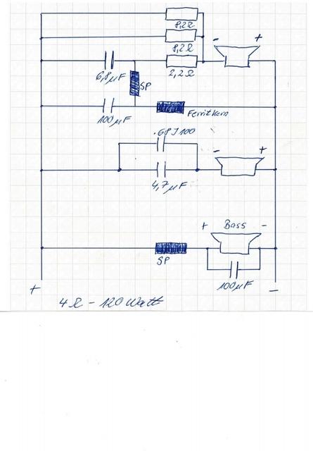 quadral frequenzweiche status mx 18 anschlu plan. Black Bedroom Furniture Sets. Home Design Ideas