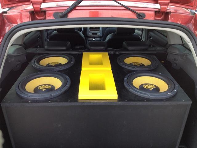 4x Audio System X-ion 12