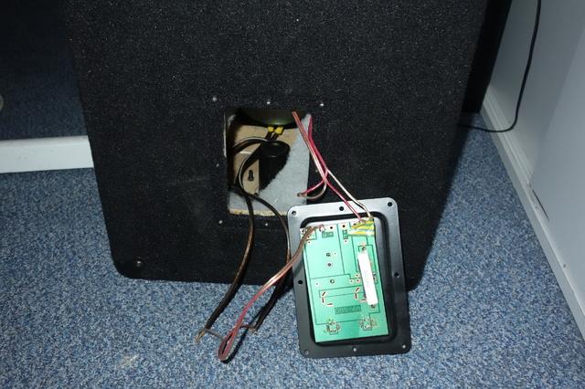 geöffneter Lautsprecher