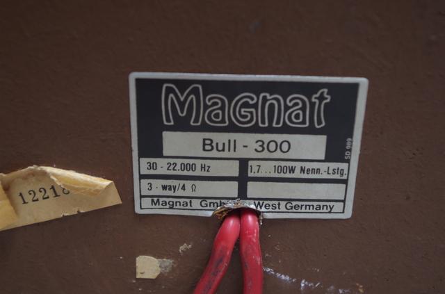Magnat Bull - 300 Restauration