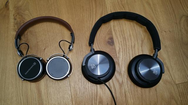 Größenvergleich Aventho Wireless vs. beoplay H6.2