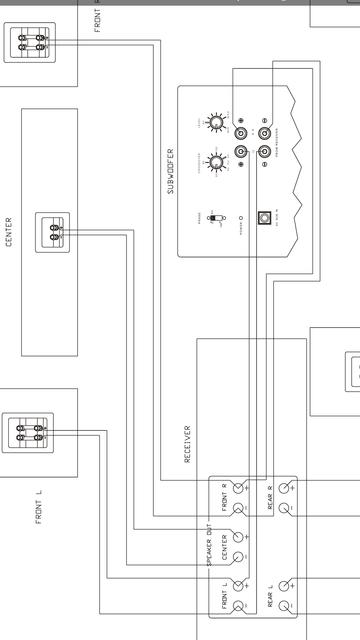 subwoofer an verst rker ohne sub eingang anschlie en anschluss verkabelung hifi forum. Black Bedroom Furniture Sets. Home Design Ideas