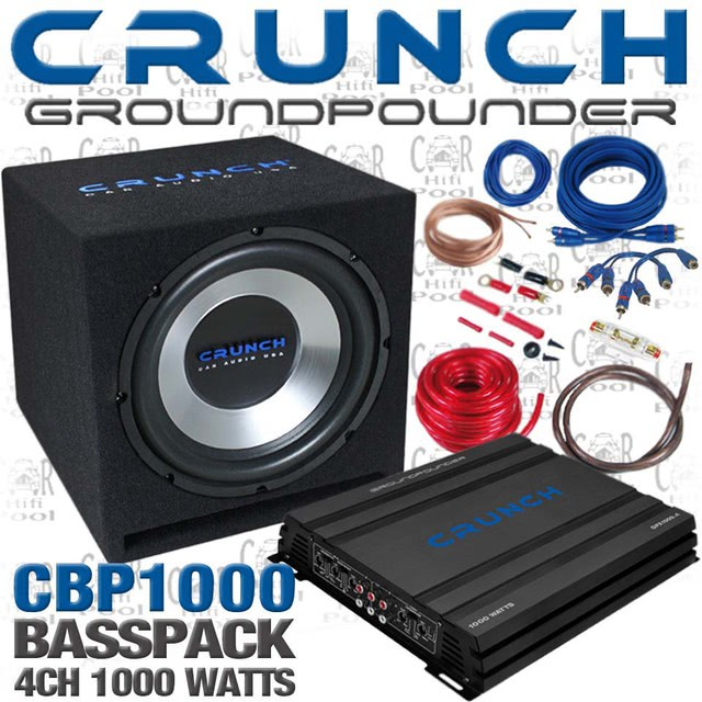 geh use f r crunch gpx 350 car hifi subwoofer geh use. Black Bedroom Furniture Sets. Home Design Ideas