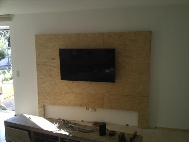 Steinwand mediawand eigenbau eigenbau mediawand - Tv steinwand bauen ...