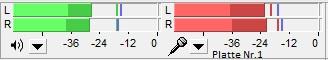 Test Pegel art-s4 links falsch rechts richtig redream