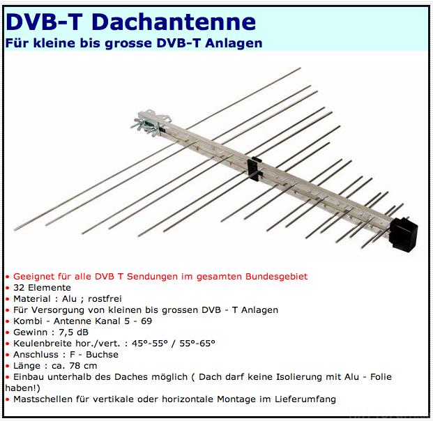 DVB-T Dachantenne