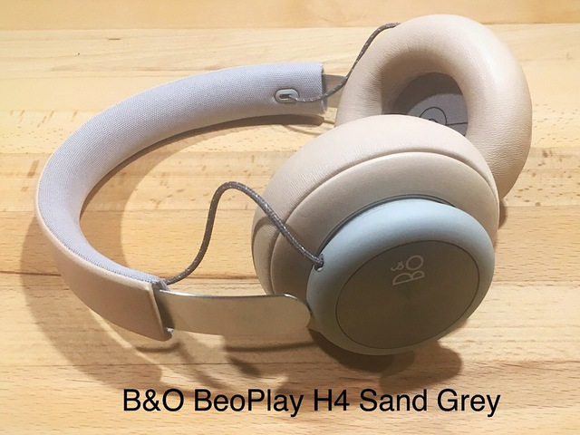 BeoPlay H4 in Sand Grey