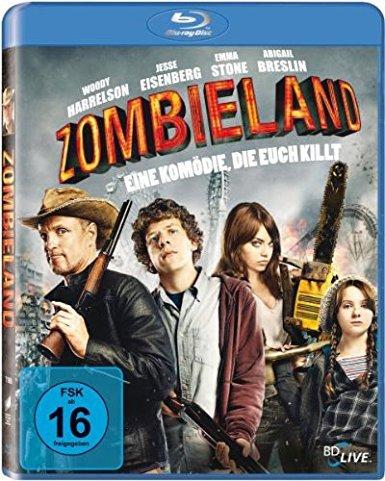 Zombieland Blu Ray