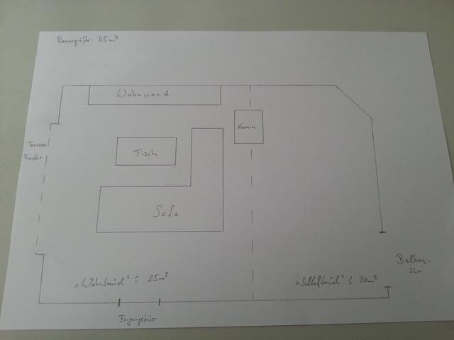 Heimkinoanlage 45qm wohnzimmer welche komponenten for Wohnzimmer 45qm