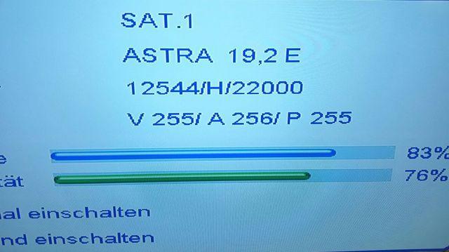 beim kabel tv nur bei rtl keinen ton