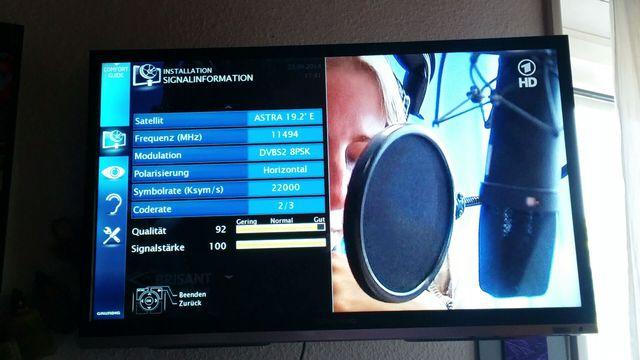 fernsehen kein signal heute