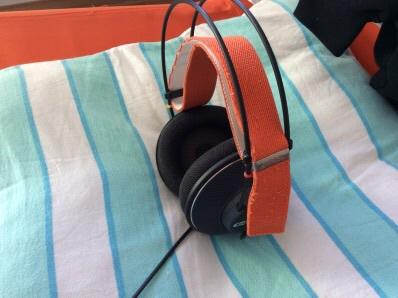 K401 - mit Kopfband orange