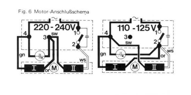 DUAL 1239A, Umbau von 110V auf 220V, Hifi-Klassiker - HIFI-FORUM