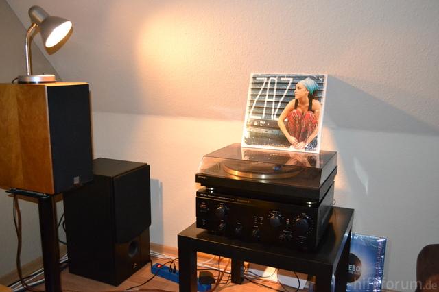 Denon Und Sony LP Zaz