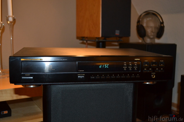 Marantz ST-50, Marantz CD-67 SE, Dual 415