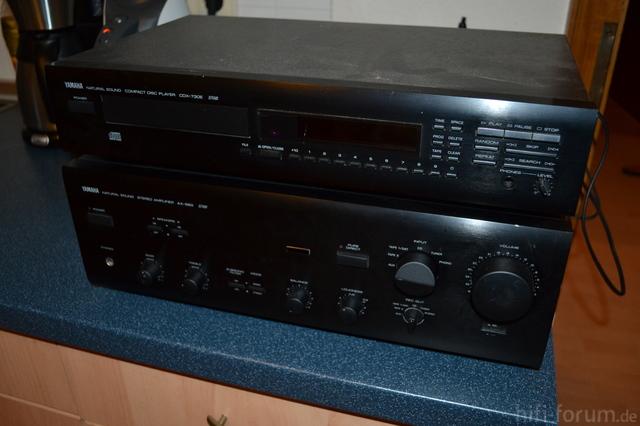 Yamaha AX550 CD, CD X-730