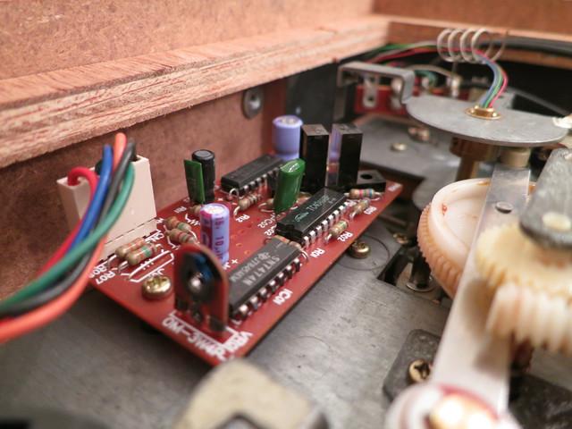 Siemens RW 555 Lichtschranke/Poti/Platine für Rückführung