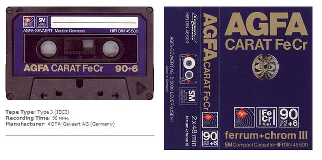 AGFA Carat FeCr 1979