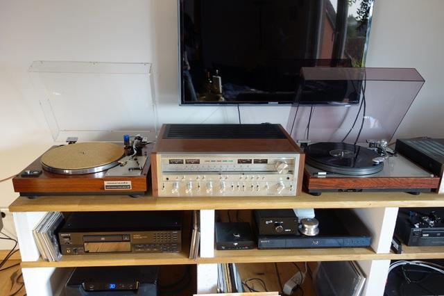 marantz 6100 und Luxman PD-282 am Prioneer SX-980